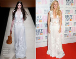 Ellie Goulding In Alberta Ferretti - 2015 BRIT Awards