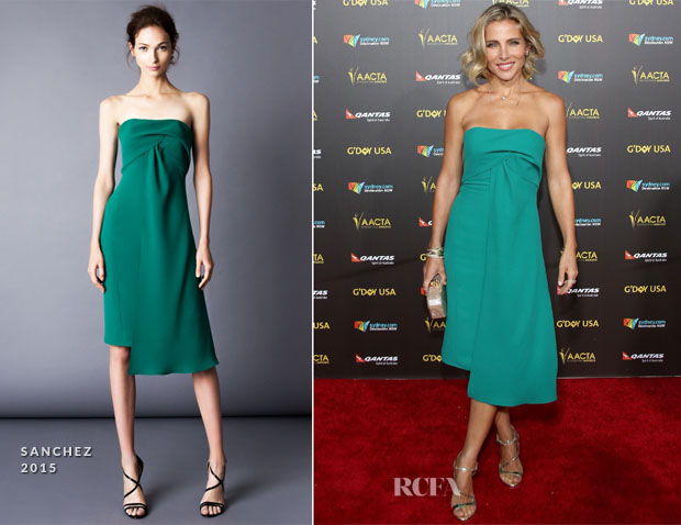 Elsa Pataky In Angel Sanchez - 2015 G'Day USA Gala