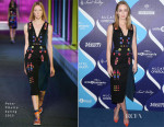 Emily Blunt In Peter Pilotto - 2nd Annual Unite4:humanity Event