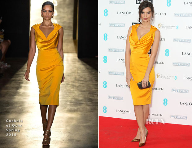 Emily Ratajkowski In Cushnie et Ochs - InStyle And EE Rising Star Party