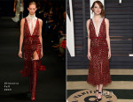 Emma Stone In Altuzarra - 2015 Vanity Fair Party