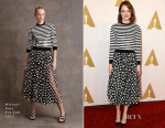 Emma Stone In Michael Kors - 87th Annual Academy Awards Nominee Luncheon