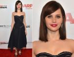 Felicity Jones In Prada - AARP The Magazine's 14th Annual Movies For Grownups Awards Gala