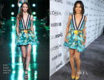 Freida Pinto In Elie Saab - Vanity Fair and L'Oreal Paris Event