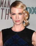 Get The Look: January Jones' Clean Modern 'The Last Man On Earth' Premiere Hair