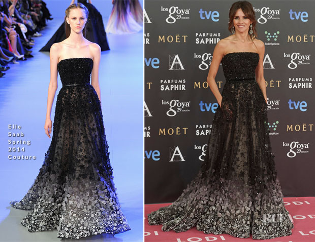 Goya Toledo In Elie Saab Couture - 2015 Goya Awards