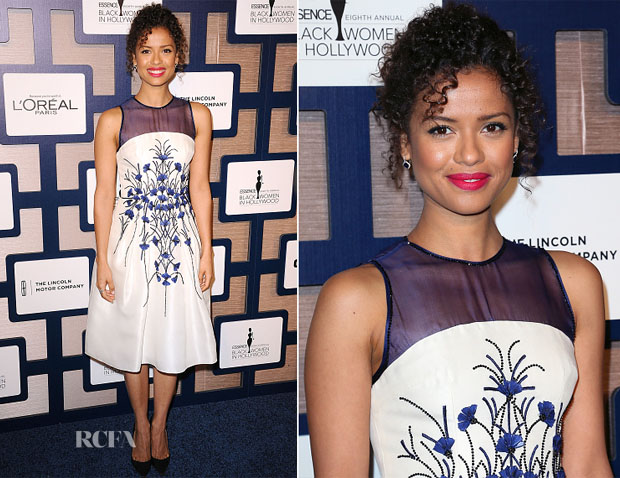 Gugu Mbatha-Raw In Carolina Herrera - 8th Annual ESSENCE Black Women In Hollywood Luncheon