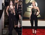 Gwen Stefani In Atelier Versace - 2015 Grammy Awards