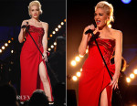Gwen Stefani In Atelier Versace - 2015 Grammy Awards Performance