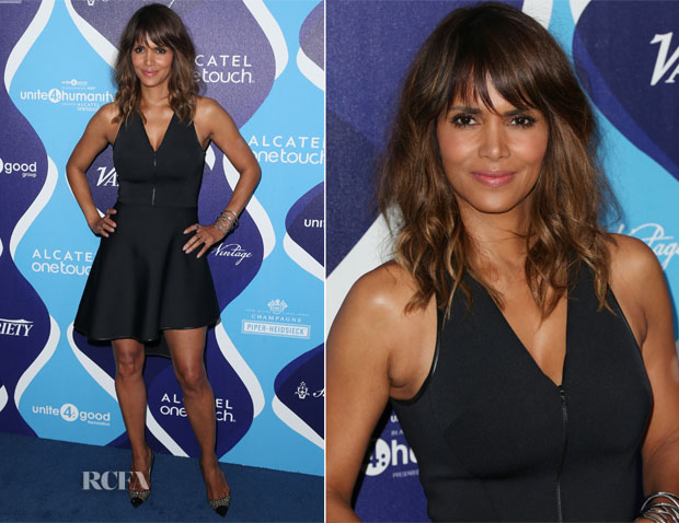 Halle Berry In David Koma - 2nd Annual Unite4humanity Event
