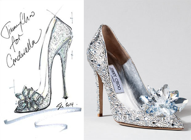 JIMMY CHOO CINDERELLA SHOE