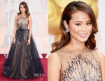 Jamie Chung In Yanina Couture- 2015 Oscars