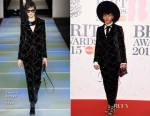 Janelle Monae In Emporio Armani - 2015 BRIT Awards