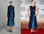 January Jones In Mary Katrantzou - 'The Last Man On Earth' LA Premiere
