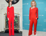 January Jones In Roland Mouret - 17th Costume Designers Guild Awards