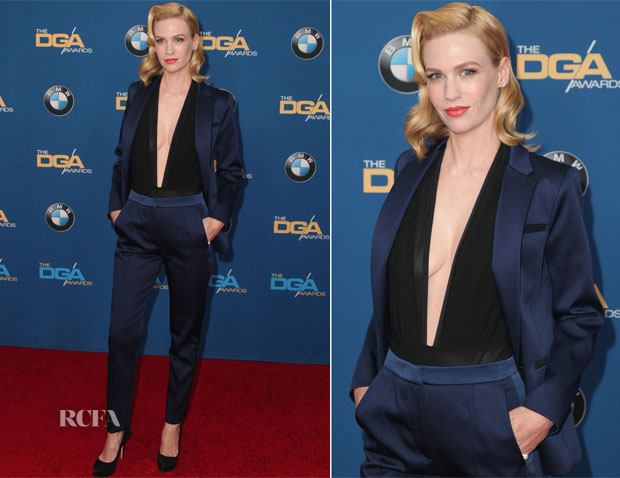 January Jones In Sandro - 2015 Directors Guild of America Awards
