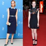 Jena Malone In Roksanda & Valentino - 'Angelica' Berlin Film Festival Photocall & Premiere