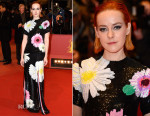 Jena Malone In Thom Browne - 'Nobody Wants the Night' Berlin Film Festival Premiere