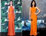 Jenna Dewan-Tatum In Cushnie et Ochs - 'Jupiter Ascending' LA Premiere