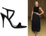 Jessica Alba's Narciso Rodriguez Strappy Sandals