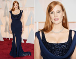 Jessica Chastain In Givenchy Couture - 2015 Oscars