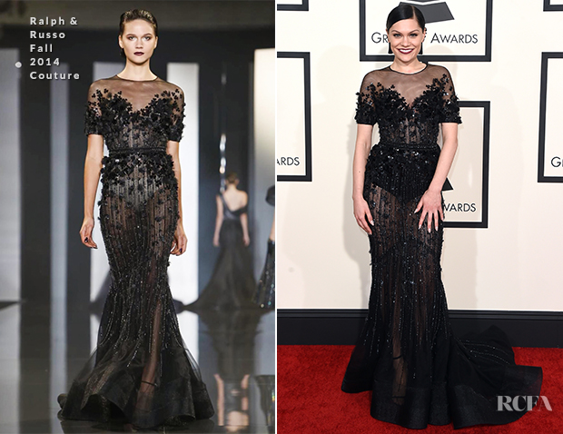 Jessie J In Ralph & Russo Couture - 2015 Grammy Awards