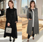 Julianne Moore & Dakota Johnson In BOSS - BOSS Fall 2015 Front Row