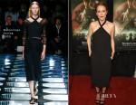 Julianne Moore In Balenciaga - 'Seventh Son' New York Screening