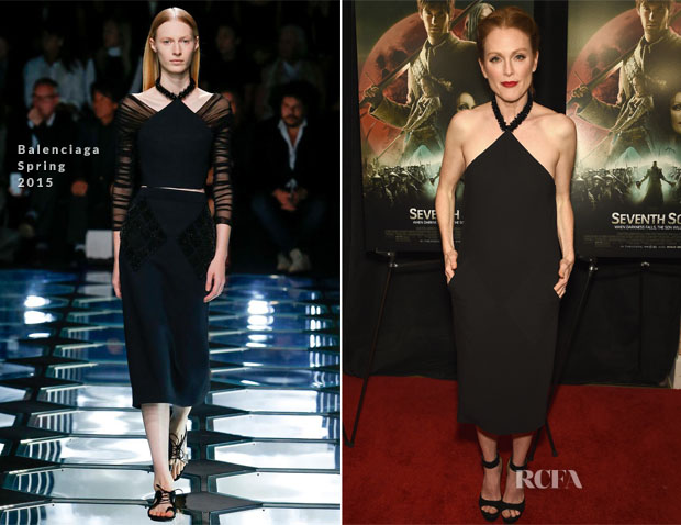 Julianne Moore In Balenciaga - 'Seventh Son' New York Screening