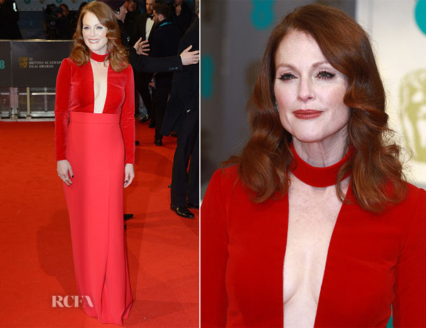 Julianne Moore In Tom Ford - 2015 BAFTAs