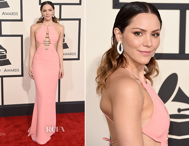 Katharine McPhee In Emilio Pucci - 2015 Grammy Awards