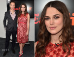 Keira Knightley In Alexander Lewis - The New York Times' TimesTalk & TIFF In Los Angeles Presents 'The Imitation Game'