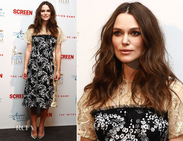 Keira Knightley In Michael van der Ham - 'The Imitation Game' London Screening