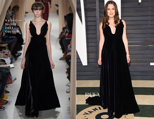 Keira Knightley In Valentino Couture - 2015 Vanity Fair Party
