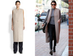 Kendall Jenner's Acne Studios Fox Double Wool Long Vest