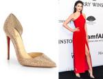Kendall Jenner's Christian Louboutin Iriza Strass Crystal Pumps