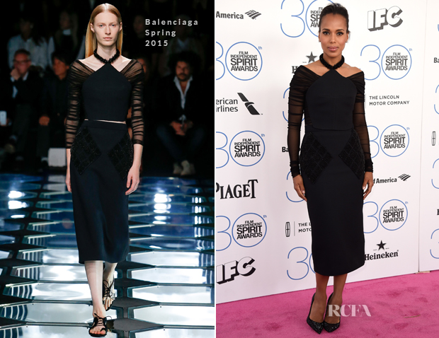 Kerry Washington In Balenciaga - 2015 Film Independent Spirit Awards