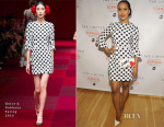 Kerry Washington In Dolce & Gabbana - The Limited Collection Inspired by Scandal Spring Shopping Event