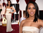 Kerry Washington In Miu Miu - 2015 Oscars