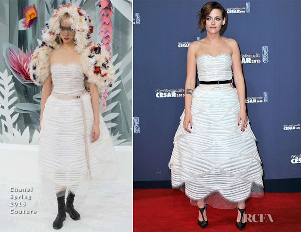 Kristen Stewart In Chanel Couture - 2015 César Film Awards