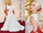 Lady Gaga In Alaia - 2015 Oscars