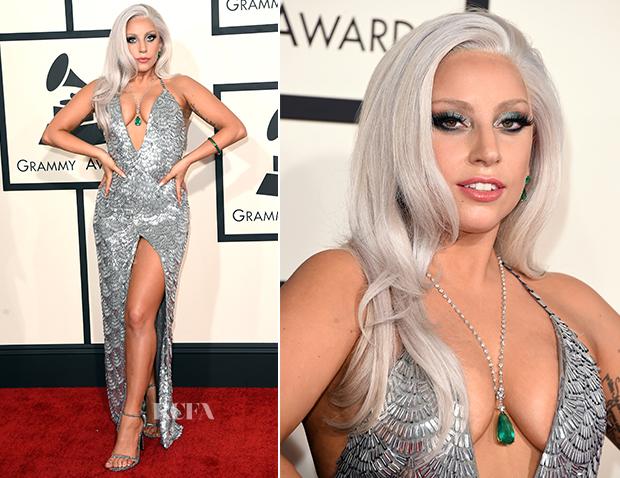 Lady Gaga Grammys: Lady Gaga In Brandon Maxwell