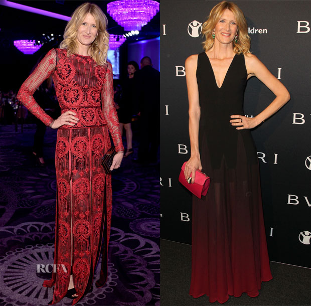 Laura Dern  In Naeem Khan & Halston Heritage - 17th Costume Designers Guild Awards & BVLGARI Pre-Oscar Event