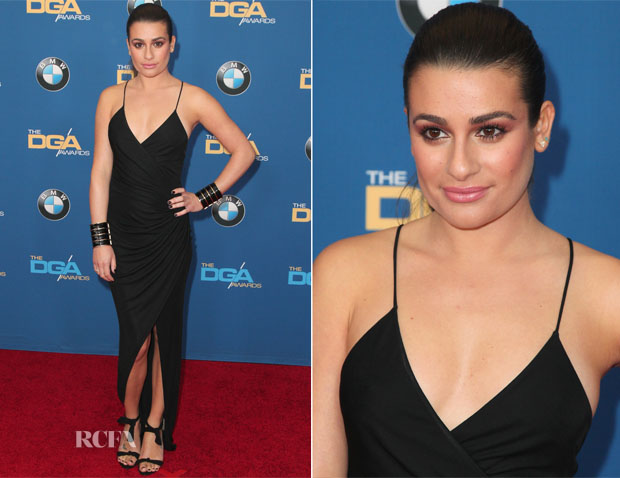 Lea Michele In Balmain -  2015 Directors Guild of America Awards