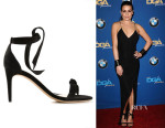 Lea Michele's Alexandre Birman Knotted Sandals