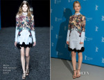 Lily James In Mary Katrantzou - 'Cinderella' Berlin Film Festival Photocall