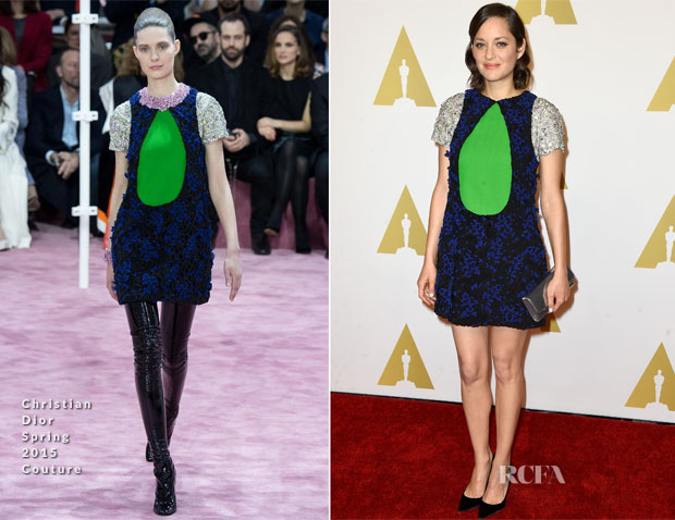 Marion Cotillard In Christian Dior Couture - 87th Annual Academy Awards Nominee Luncheon