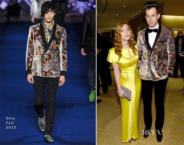 Mark Ronson In Etro - Pre-GRAMMY Gala And Salute Honouring Martin Bandier