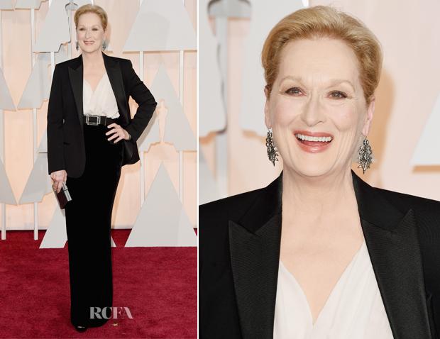 Meryl Streep In Lanvin - 2015 Oscars