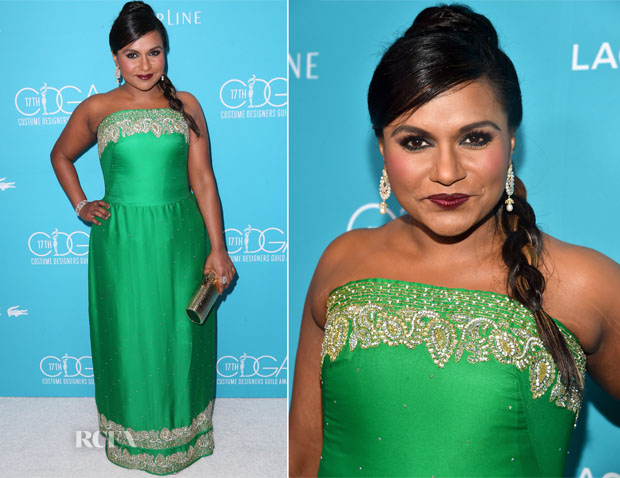 Mindy Kaling In Salvador Pérez - 17th Costume Designers Guild Awards